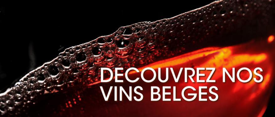 Découvrez nos vins belges