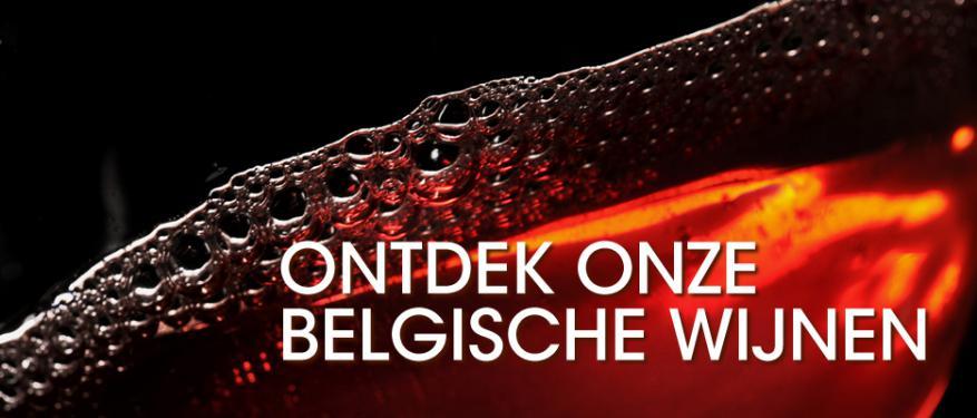 Ontdek onze Belgische wijnen