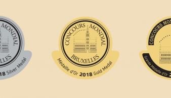 Concours Mondial de Bruxelles medailles Bejing