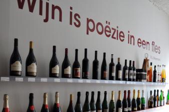 Wijn is poëzie in een fles Belartisan Antwerpen