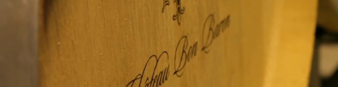 Wijnvat van Château Bon Baron