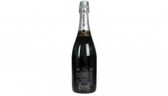 Vignoble des Agaises Cuvée Seigneur Ruffus brut etiket achterkant wijnfles