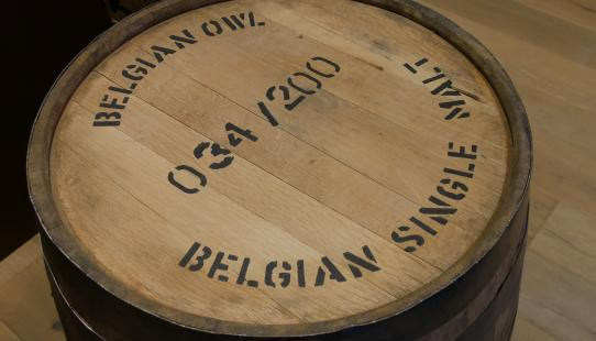 Belartisan single cask whisky i.s.m. The Owl Distillery vat 034 1523695
