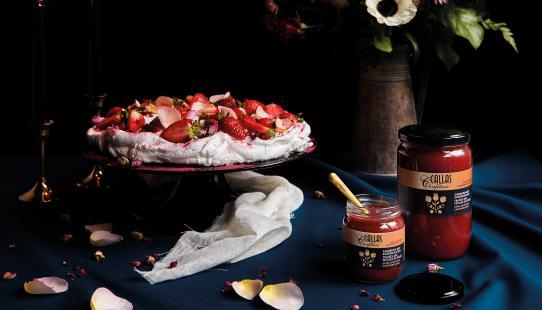 Stilleven Callas Confiture Aardbeien met Rozenblaadjes 250 g