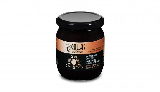 Callas Confiture Bosbessen met Limoen 250 g