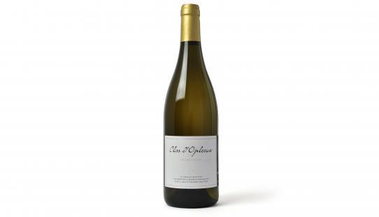 Chardonnay Clos d'Opleeuw bouteille de vin avec étiquette