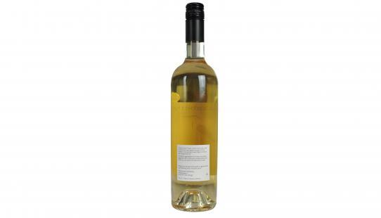 Cinera Haksberg étiquette arrière bouteille de vin