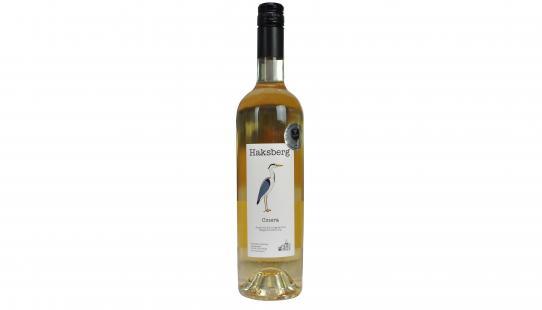 Cinera Haksberg bouteille de vin avec étiquette