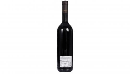 Edelrood Ten Kapittelberg étiquette arrière bouteille de vin
