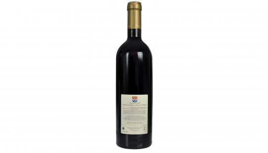 Waes Rood - Rouge étiquette arrière bouteille de vin