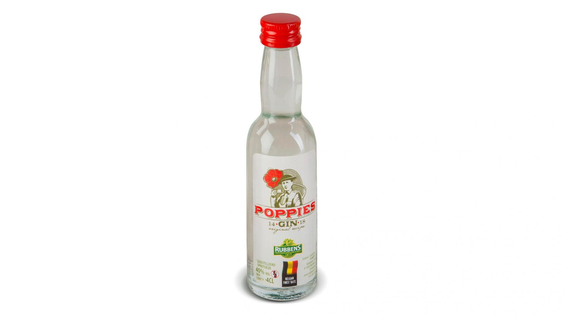 Rubbens Poppies Gin 4 cl | Gin belge | Belartisan