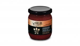 Callas Confiture Aardbeien met Rozenblaadjes 250 g
