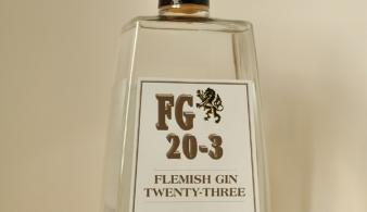 Flemish Gin FG20-3 belgische gin voorkant