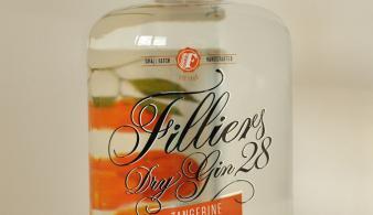 Filliers Dry Gin 28 Tangerine belgische gin voorkant