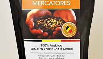 Mercatores gemalen koffie