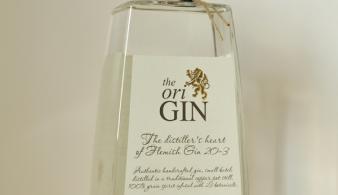 The oriGIN belgische gin voorkant