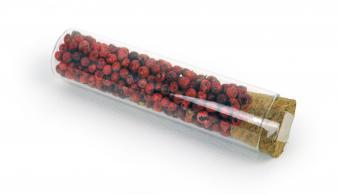 Épices pour gin - Poivre rose 10 g tube