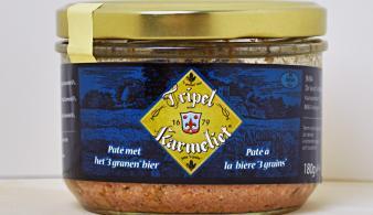 Paté met Tripel Karmeliet 180g
